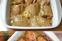 CHICKEN THIGH DISH FOR TUESDAY