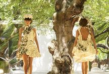 Paper Dresses / A collection of paper dresses made using our range of creative papers