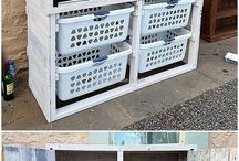 Laundry cupboard