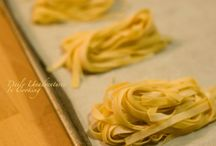 Homemade pastas