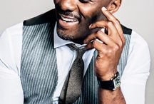 Idris Elba / Yumminess personified. I adore Idris Elba - not only for what a beautiful man he is, but also because he is an awesome actor. Lots of yummy pictures of him looking delicious.