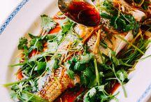 Asian fish & sea food dishes