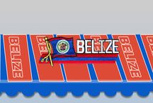 Belize Product in Color flag logo / We have the Best Product in Belize color flag logo
