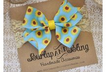 Infant Headbands / Here is where we will share the Burlap and Bling Handmade Brand Infant Headbands / by Burlap and Bling Handmade Accessories