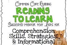 School Stuff-Mentor texts