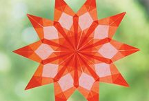 Playing With Paper Kits / Cut, fold, weave and illuminate your way through these fun paper projects as you turn a variety of decorative papers into stunning ornaments, lanterns, and jewelry for you and your loved ones.