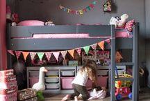 DORMITORIO NIÑOS / Enseñar  un método para ordenar y organizar la habitación de los niños