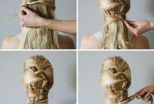 easy hair tutorial  inspiration