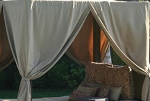 Outdoor ideas / Flowers, trees, garden and furniture ideas