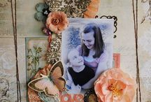 Scrapbooking, Fotoalbum, Papercraft memories