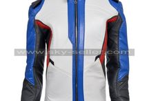 Soldier 76 Overwatch Motorcyle Leather Jacket / Buy this Biker Soldier 76 Overwatch Leather Jacket at most discounted price from Sky-Seller and avail free Shipping.