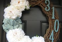 Wreaths and Door Hangings / by Chendra Alstatt-Mitchell