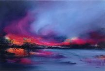 My Abstract Landscape paintings