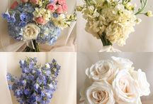 Purple and Blue Bouquets / Our most popular purple and/or blue bouquets created by Renee Burroughs Design