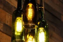Repurposed Wine Bottles / Ideas for what you can do with your old wine bottles
