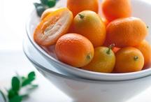 Decorating with Kumquats / I love the use of Kumquat topiaries in home decor