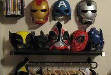 Dress up costume storage