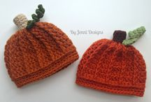 Crochet Pumpkin Assortment