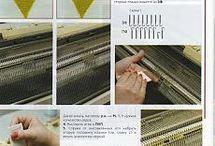 Strojové pletenie.