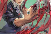 Parasyte / I don't know why I pin pictures of this anime when i haven't even watched the anime series yet. But It's probably because the Artworks of these anime are amazing.