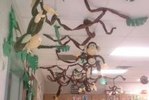 Jungle classroom