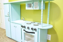 Play kitchen / by Carrie Duncan