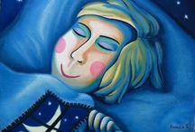 Malba-můj vlastní svět / Obrazy-malba