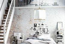Brick wall overige ruimtes in huis