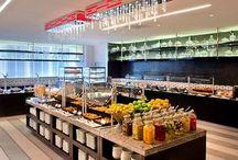 Breakfast bar station