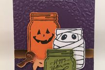 Jar of Haunts - Stampin Up / projects created with the Jar of Haunts Stamp Set