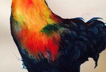 My Paintings / watercolor paintings
