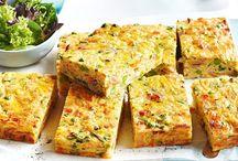 Savory slices