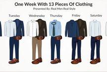 Vestimenta Masculina: Infografías