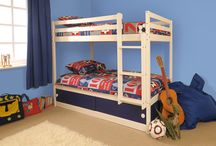 Home decor - Children's bedroom - Space themed / Space themed / Star Wars themed bedroom for 6 year-old twin boys