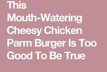 Chicken hamburg