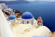 Places to Go Santorini / its about places on travel wishlist
