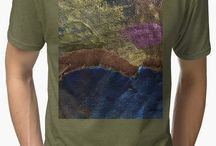 *Terrific Tees, Tops, and Hoodies / Wear Original Art on your favorite style of T-shirt, Chiffon top, Tank, or Hoodie.  Graphics include dragons, animals, nature, flowers, landscapes, and many patterns and designs created by an Artist who has painted, illustrated, photographed and digitally designed each art work used.