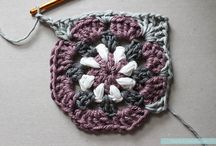 Crochet squares and grannies