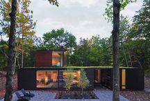 domy - dachy plaskie
