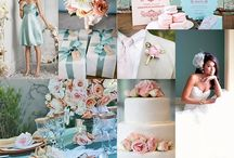Pastel colours and Mint wedding