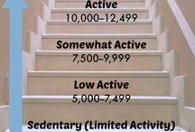 Fitness: Walking/Treadmill.