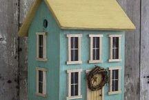 Birdhouses & Feeders / by Lindsay Stiemke