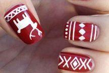 cristmas nails