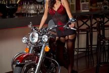 Shootings pour Harley Davidson / Shooting pin up
