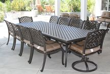 Large Patio Dining Set 12 person 13 Piece