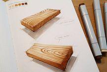 Visualisointi pintoja ja tekstuureja