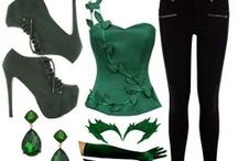 Suicide Squad style Poison Ivy cosplay inspo