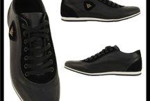 Heren Casual Zwarte Sneakers