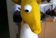 Giraffe made for Ordbogen / Animal costume