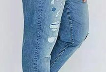 Big size women jeans 42  62